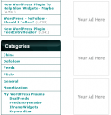 Advertising Spots in Right Sidebar